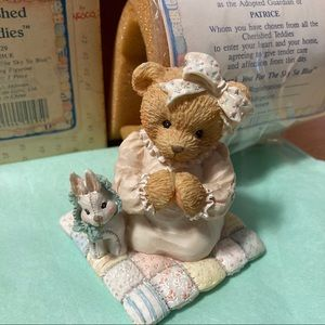 NIB 1992 Enesco Cherished Teddies Patrice